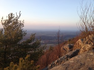 Appalachian Trail scenic view